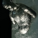 8E Aluminum sculpture