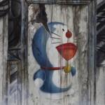 Pg. 2 – 3 Malefic Time: 110 Katanas, Tokyo 2038 (Fragmento 3) 130 x 162 cm Acrylic and oil on canvas