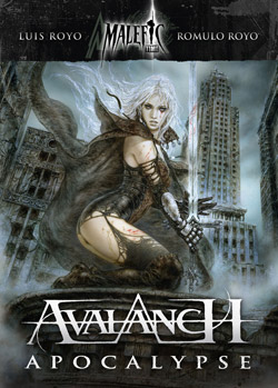 Avalanch Apocalypse, Music CD Cover