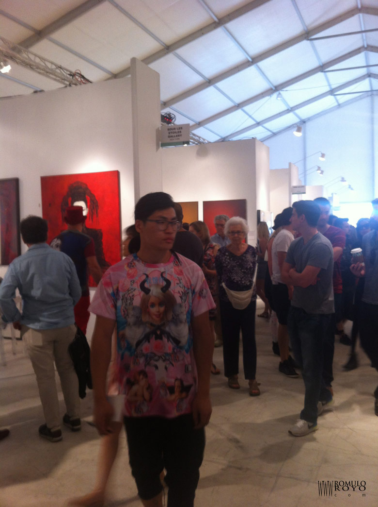 Stand Gallery Kavachnina Contemporary at ART MIAMI fair