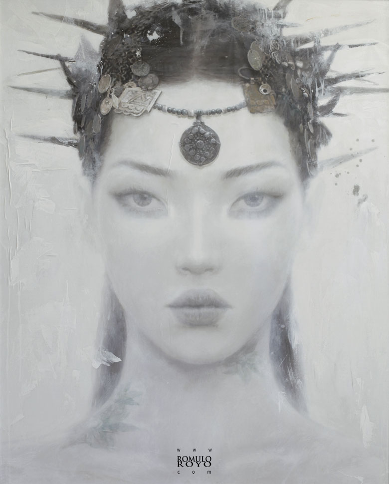 Romulo Royo - Goddesses of Nibiru | Pigments