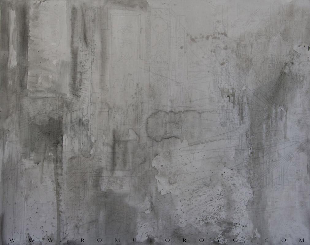 7501-Malefic-Time-110-Katanas---Tokio-2038---Comienzo-lapicero-y-acrilico-sobre-lienzo